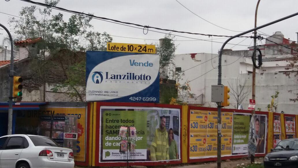 Foto Terreno en Venta en  Lanús Este,  Lanús  Salta y Eva Peron