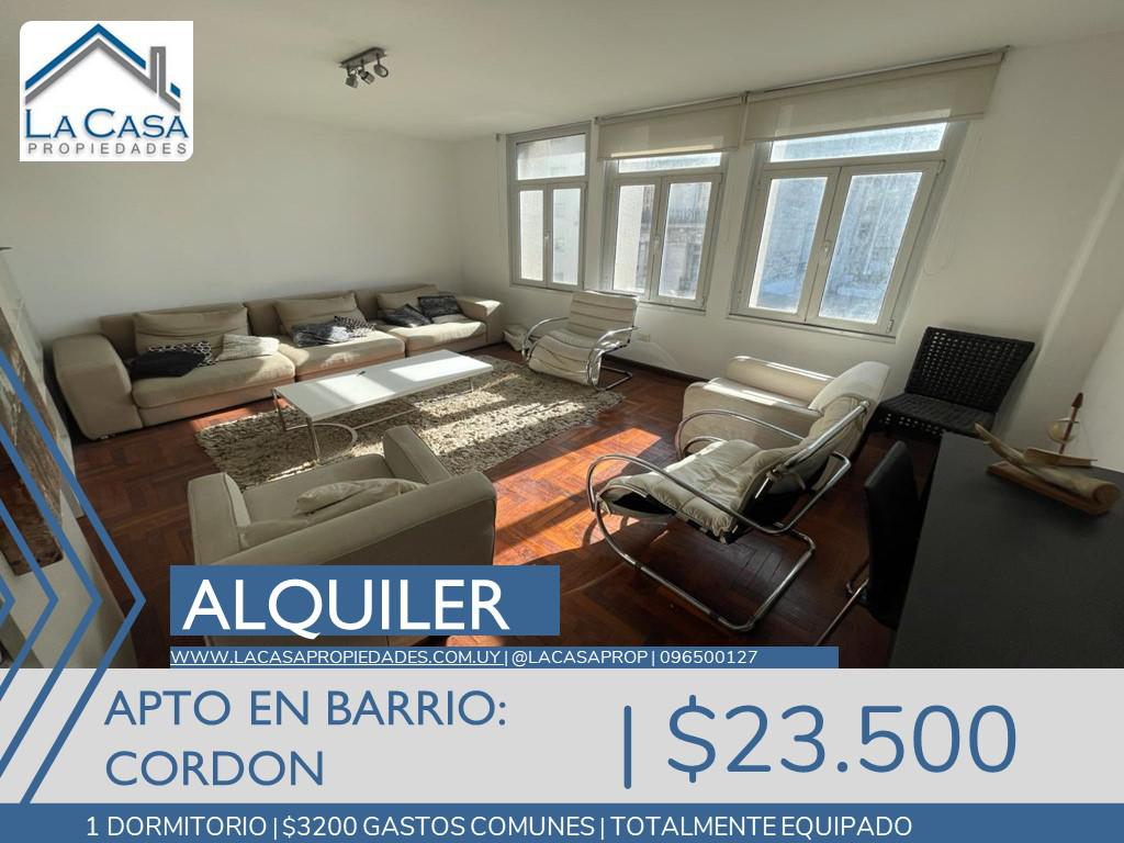 Foto Apartamento en Alquiler en  Cordón ,  Montevideo  Uruguay al 1100
