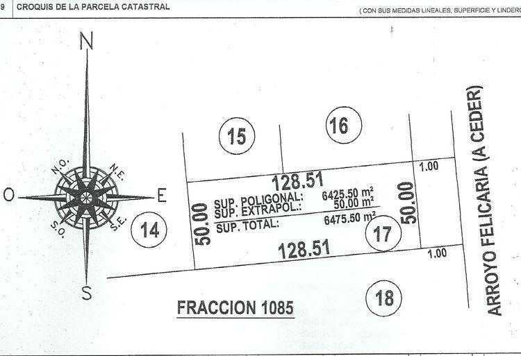 Foto Terreno en Venta en  Felicaria,  Zona Delta San Fernando  Samek Propiedades: Felicaria Parcela 17
