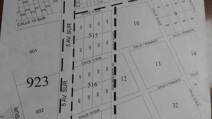 Foto Terreno en Venta en  La Veleta,  Tulum  Lote de 1150 m2 en la 5a avenida Tulum