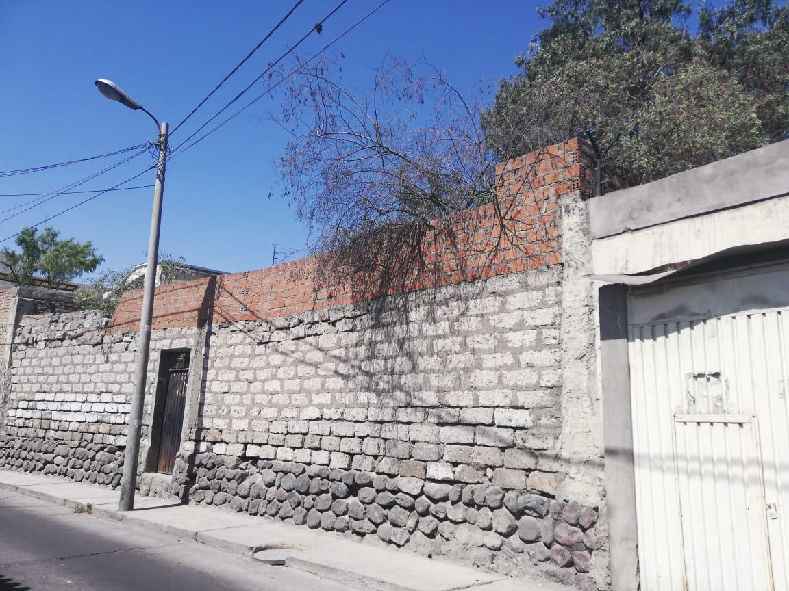 Foto Terreno en Venta en  Arequipa,  Arequipa  PASAJE RONDA TARAPACA  al 100