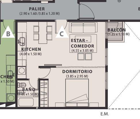 Foto Departamento en Venta en  General Paz,  Cordoba  Un dormitorio - Edicicio Magna 9 - B° Gral Paz
