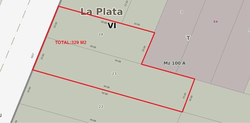 Foto Terreno en Venta en  City Bell,  La Plata  467 entre 135 y 136