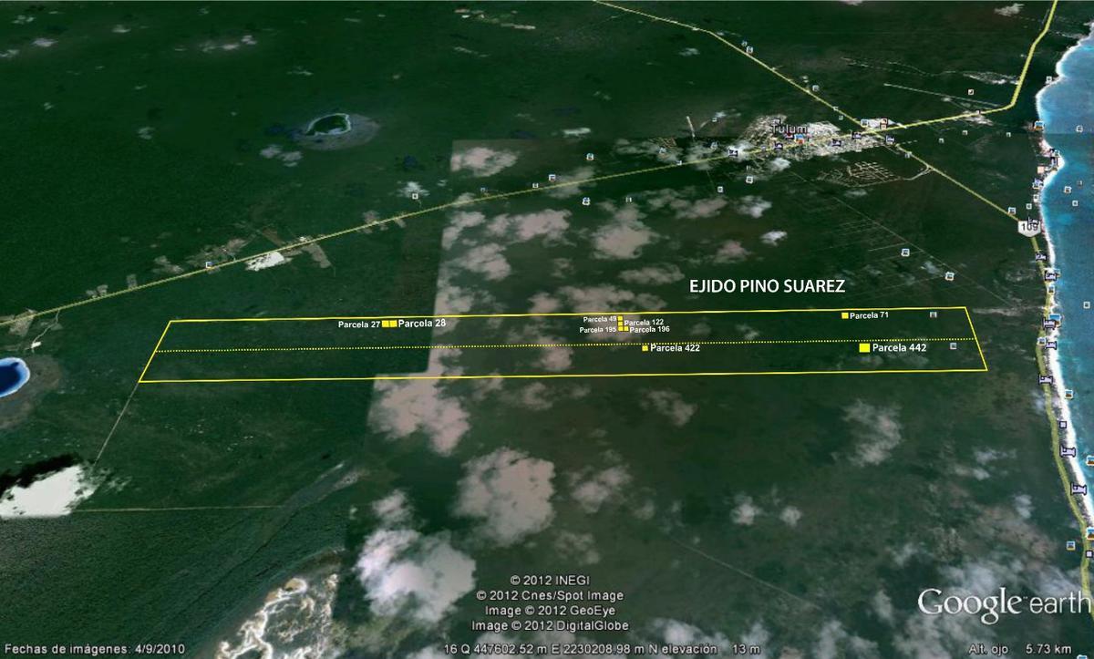 Foto Terreno en Venta en  Tulum ,  Quintana Roo  TERRENO TULUM QUINTANA ROO