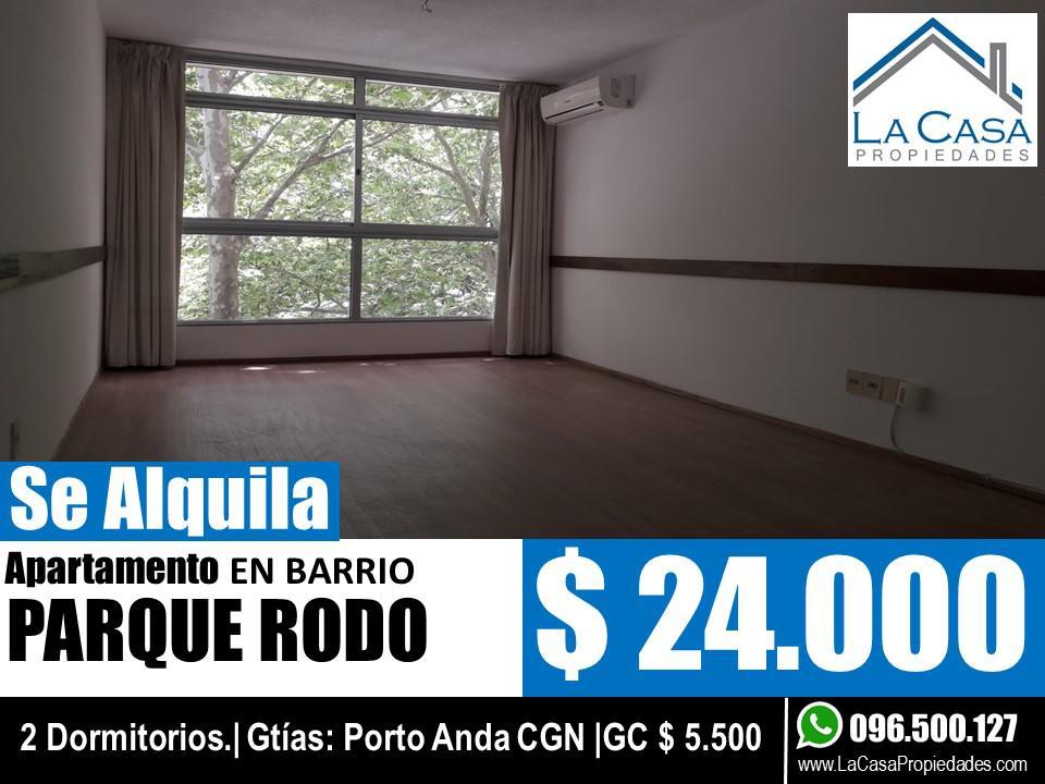 Foto Apartamento en Alquiler en  Parque Rodó ,  Montevideo  Eduardo Acevedo 1009/401