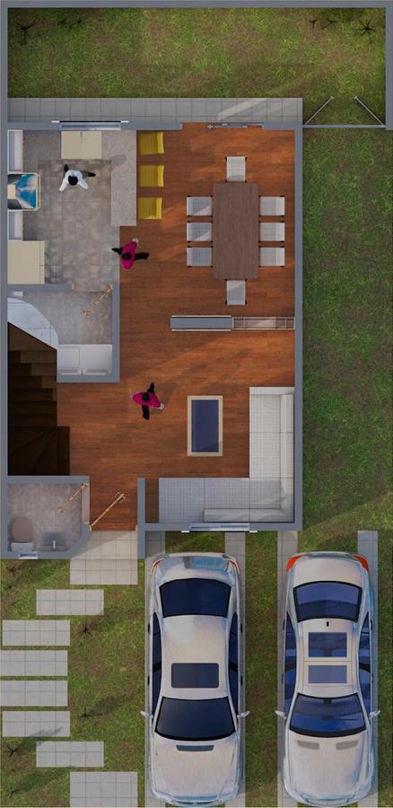 Foto Casa en condominio en Venta en  San Mateo Atenco ,  Edo. de México  CASA EN VENTA, RESIDENCIAL SAN GIMINIANO, SAN MATEO ATENCO, EDO. DE MÉXICO.