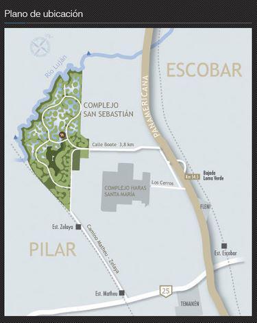 Foto Terreno en Venta en  San Sebastian,  Countries/B.Cerrado  SAN SEBASTIAN - ESCOBAR