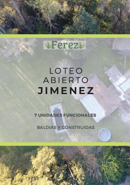 Foto Terreno en Venta en  Del Viso,  Pilar  artigas y jimenez