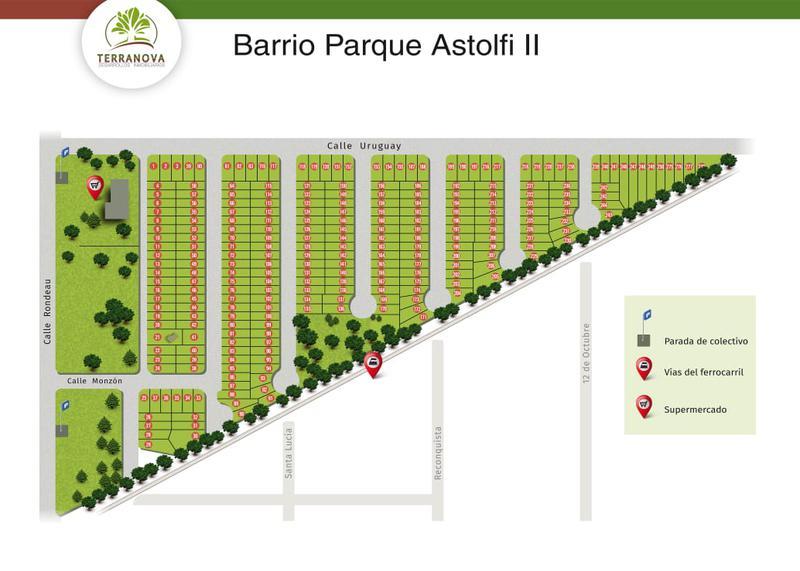 Foto Terreno en Venta en  Villa Astolfi,  Pilar  Lago Fagnana y Pampa, Barrio Parque Astolfi II