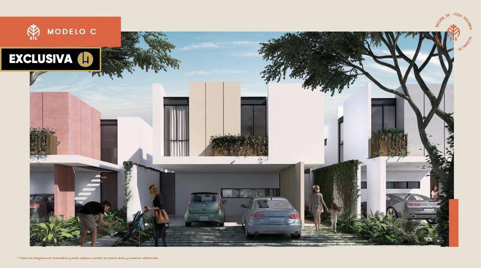 Foto Casa en Venta en  Pueblo Cholul,  Mérida  MACORA 86 | ALTABRISA-CHOLUL  | MODELO C