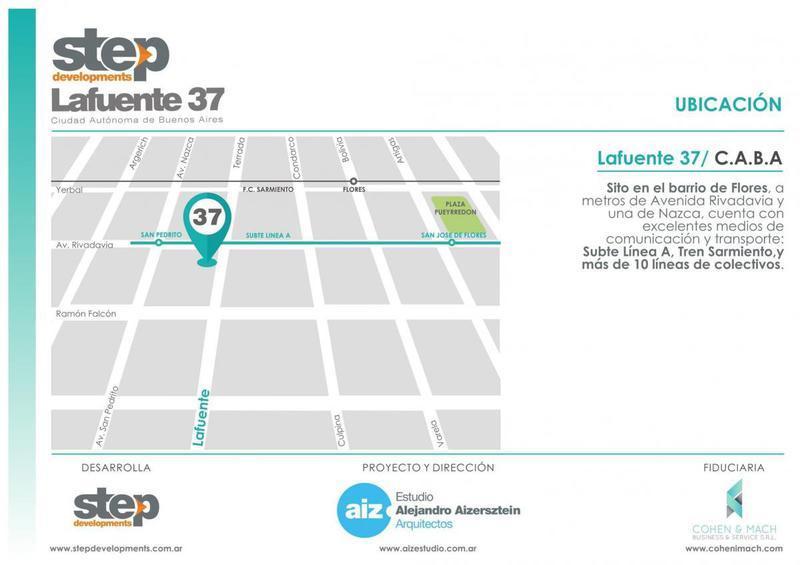 Foto Departamento en Venta en  Flores ,  Capital Federal  LAFUENTE 37  4F