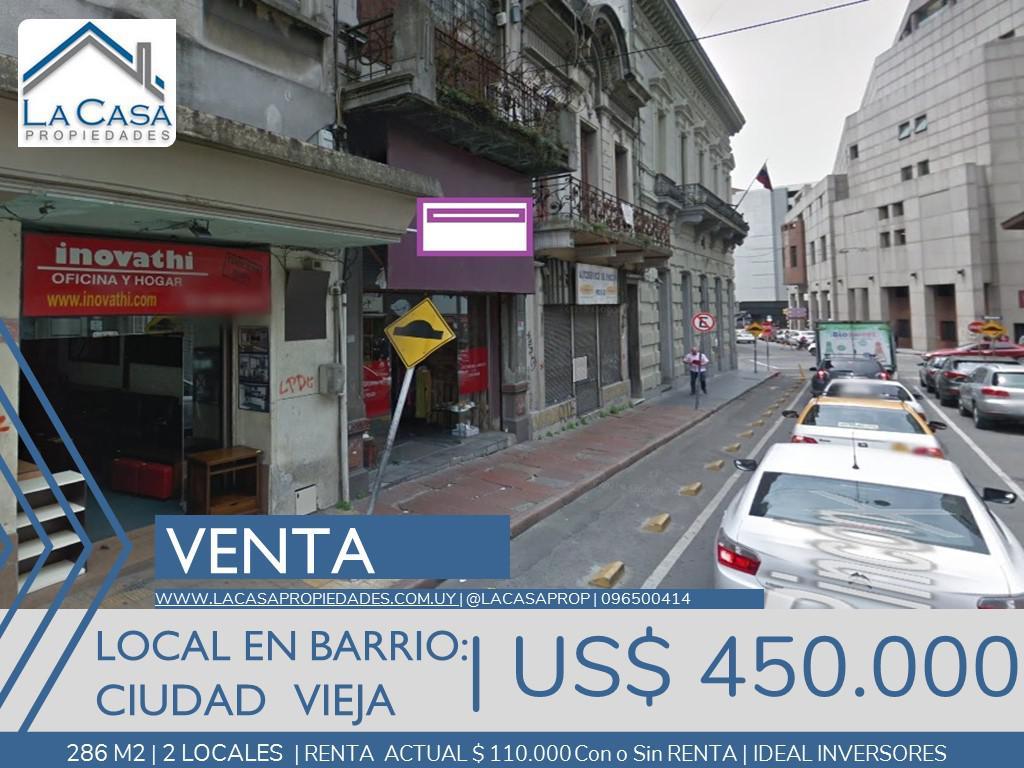 Foto Local en Venta en  Ciudad Vieja ,  Montevideo  Rincon  al 700