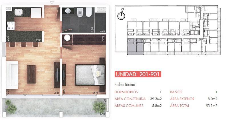 Foto Departamento en Venta en  Pocitos ,  Montevideo  Un corazón de oportunidad, inversores, oficia o vivienda, apartamento  dos dormitorios