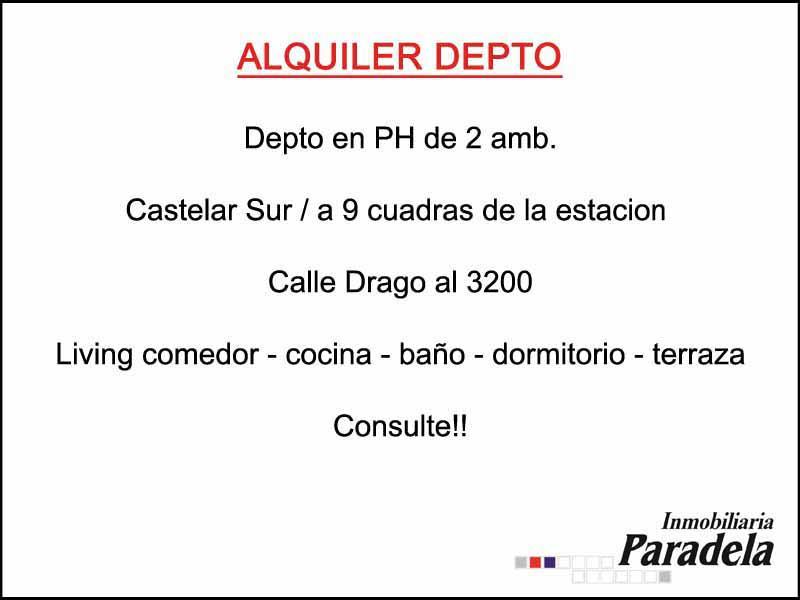 Foto PH en Alquiler en  Castelar Sur,  Castelar  Drago al 3200