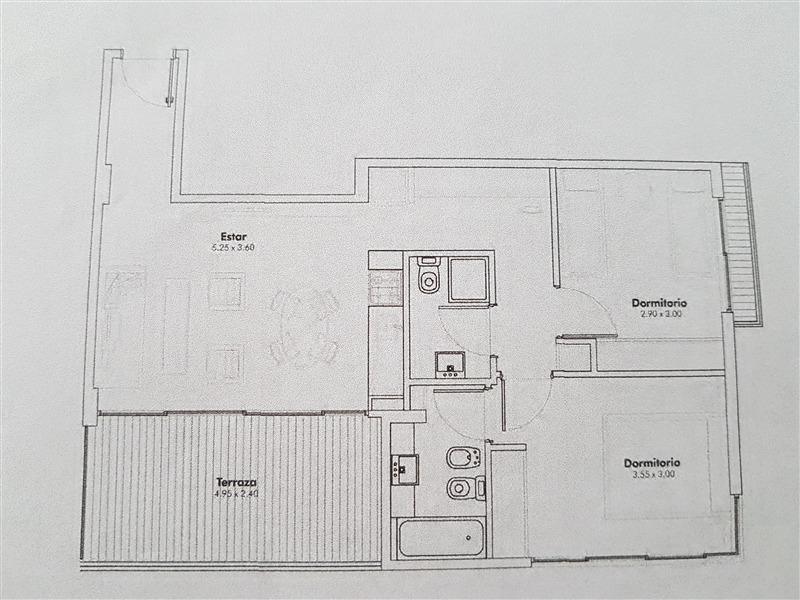 Foto Departamento en Venta |  en  Palermo ,  Capital Federal  Venta 3 amb c/ terraza   2 cocheras Gym Piscina Parrilla SUM para chicos SUM Laundry - Av. Córdoba 5400, Piso 6º