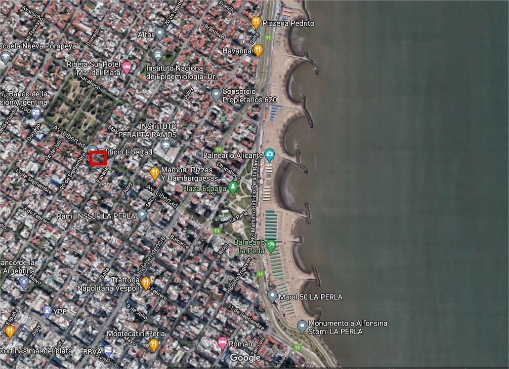 Foto Terreno en Venta en  La Perla Sur,  Mar Del Plata  Avenida Libertad al 3500