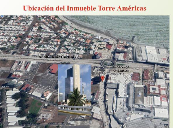 Foto Oficina en Renta en  Boca del Río ,  Veracruz  TORRE AMERICAS, Oficina en RENTA EQUIPADA con vista al mar, de 52.38 m2