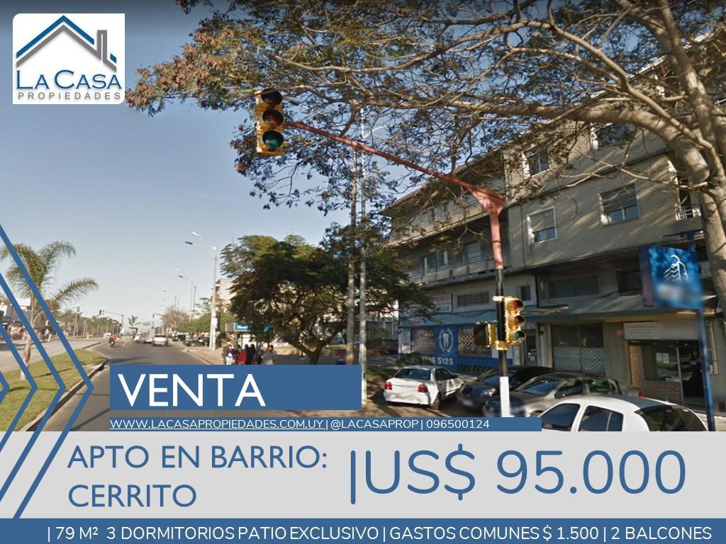 Foto Apartamento en Venta en  Cerrito ,  Montevideo  Gral Flores al 4100
