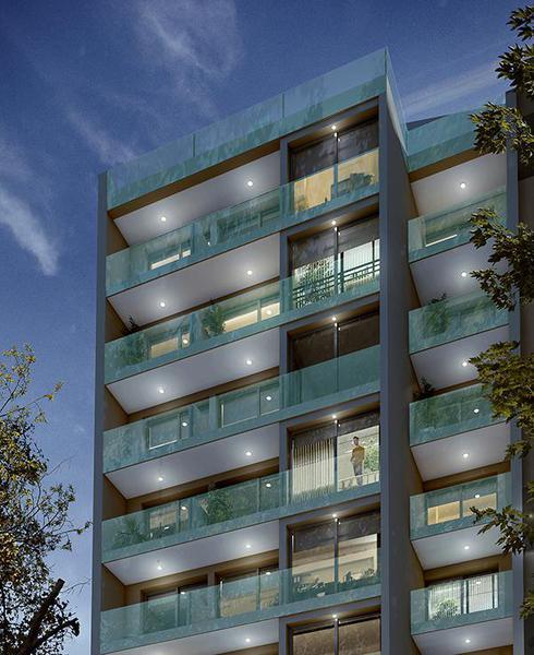 Foto Departamento en Venta en  Pocitos ,  Montevideo  A estrenar piso 10, un dormitorio en el centro de Pocitos