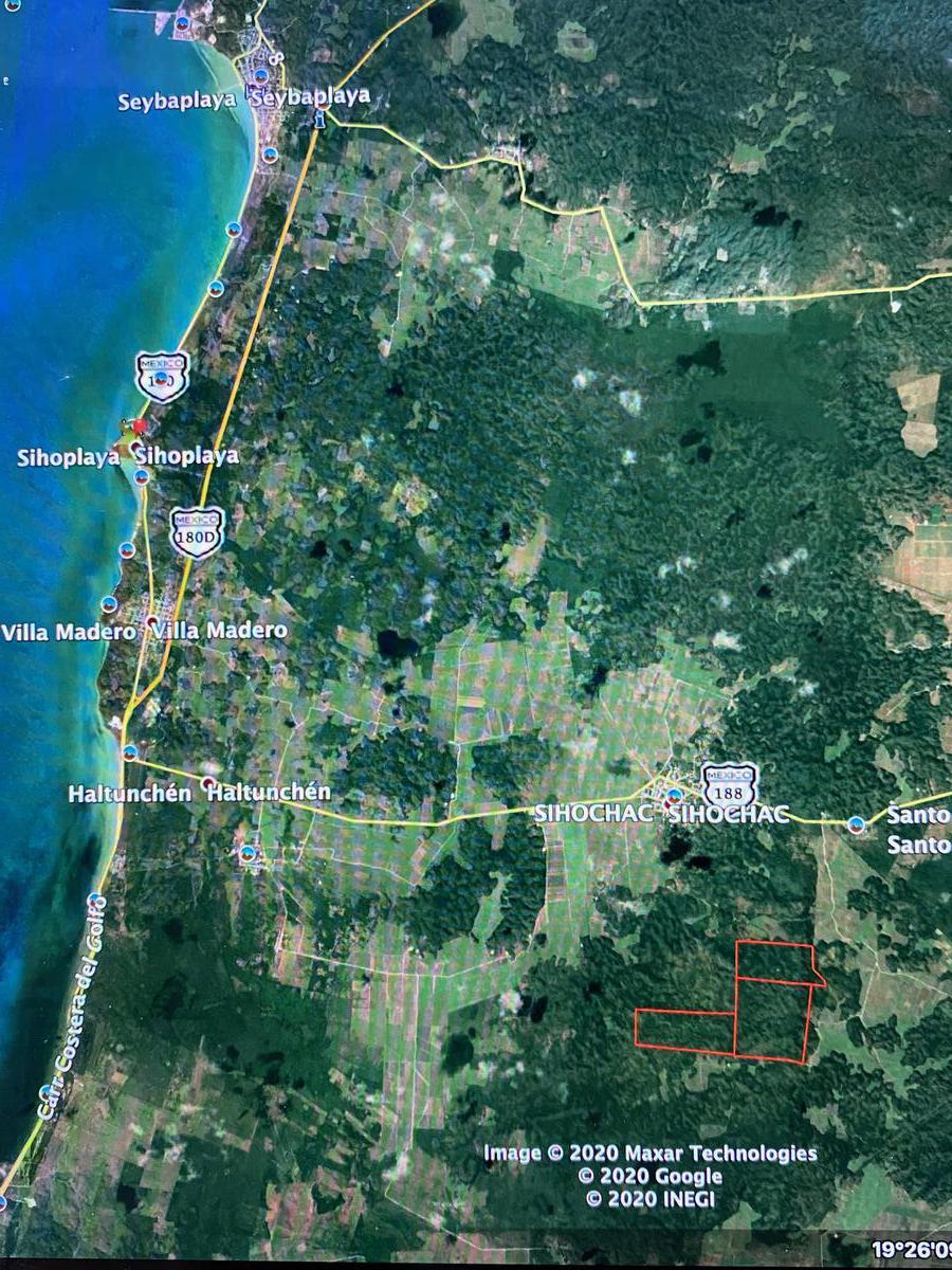 Foto Terreno en Venta en  Campeche ,  Campeche  Terreno en Campeche más de 350has