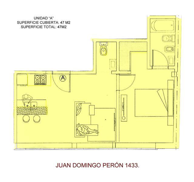 Foto Departamento en Venta en  Microcentro,  Centro  Juan Domingo Peron al 1400