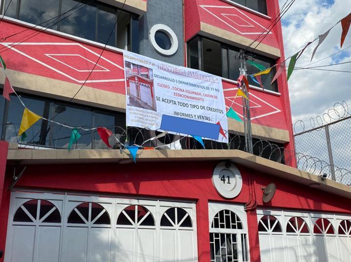 Foto Departamento en Venta en  Azcapotzalco ,  Ciudad de Mexico  VENTA DE 4 DEPARTAMENTOS EN  AZCAPOTZALCO CIUDAD DE MÈXICO