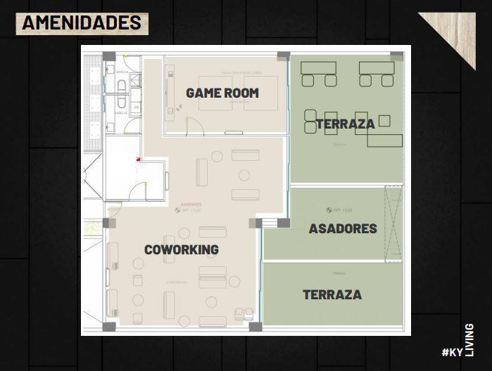 Foto Departamento en Venta en  Ejido Los Pocitos,  Aguascalientes  Departamento en Preventa en Zona Tec