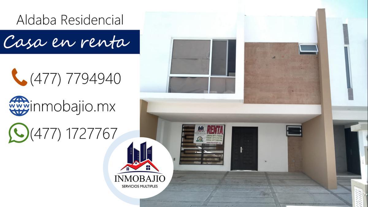 Foto Casa en Renta en  Fraccionamiento  Albada,  León      Casa nueva en renta en Aldaba Residencial, muy cerca de Blvd. Morelos (zona sur)