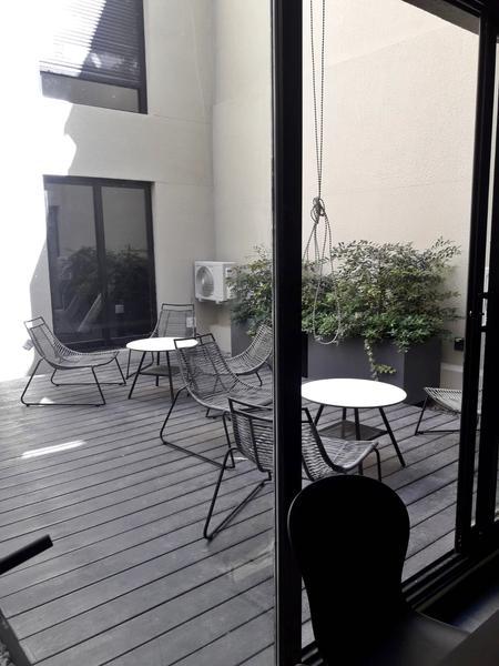 Foto Departamento en Venta | Alquiler en  Pocitos Nuevo ,  Montevideo  Para entrar, monoambiente con patio, playroom, workplace, barbacoa