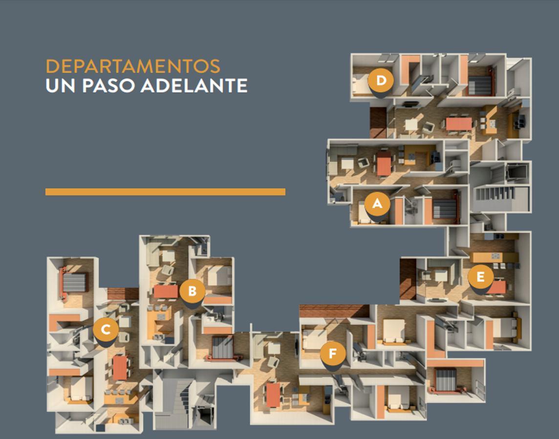 Foto Departamento en Venta en  Garita de Jalisco,  San Luis Potosí  Departamento, Prototipo B, Piso 4- Estrella 445 esquina con Granizo, Garita de Jalisco, San Luis Potosí, S.L.P.