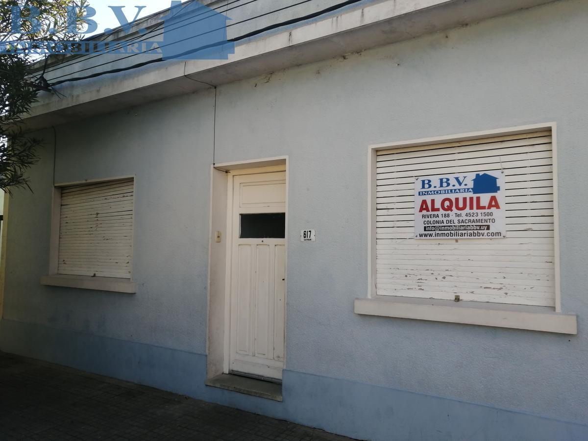 Foto Casa en Alquiler en  Colonia del Sacramento ,  Colonia  Casa  2 Dormitorios Zona  céntrica