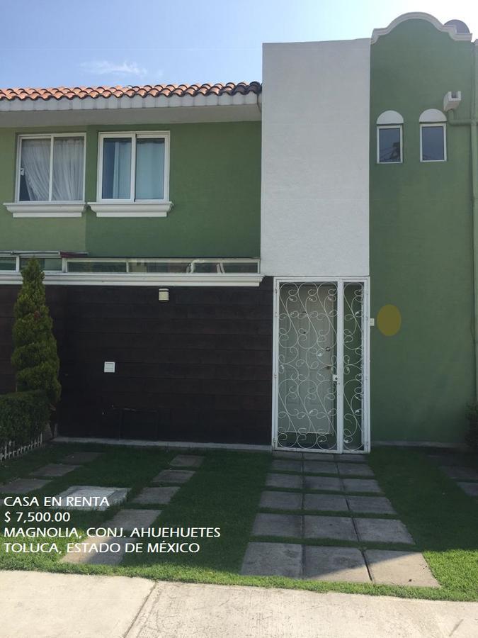 Foto Casa en condominio en Renta en  Toluca ,  Edo. de México   Casa en RENTA, Conjunto Ahuehuetes, Magnolia, Toluca, Estado de México