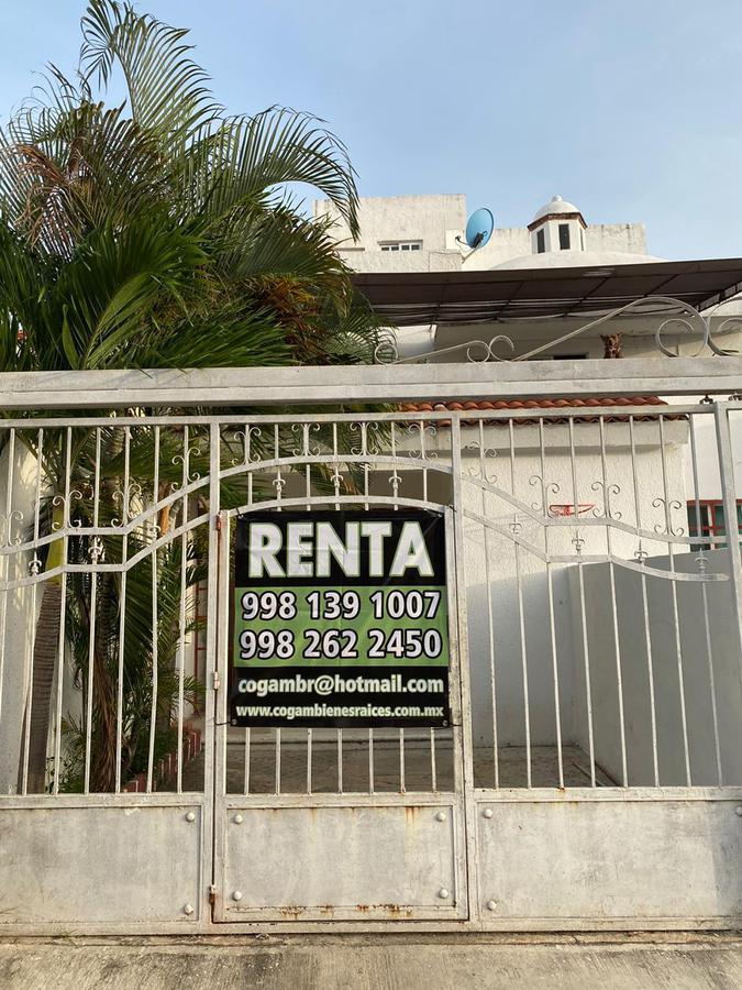 Foto Casa en Renta en  Santa Fe Plus,  Cancún  CASA SEMIAMUEBLADA  EN RENTA EN CANCUN EN SANTA FE