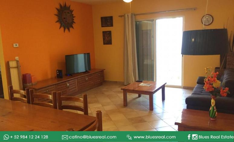 Picture Apartment in Rent in  Solidaridad ,  Quintana Roo  Incredible apartment for rent fully furnished and equipped half a block from the sea (Playa Mamita) and the 5th avenue in Playa del Carmen - Code 970