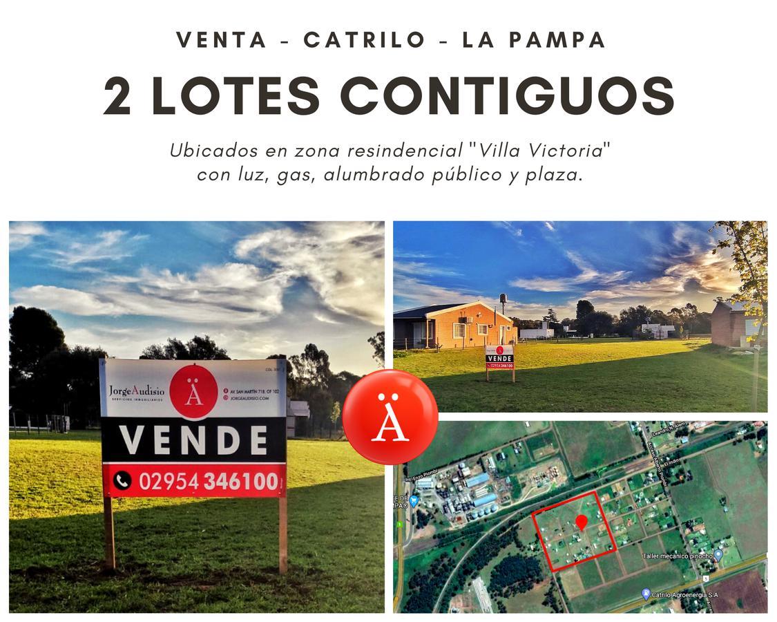 Foto Terreno en Venta en  Catrilo ,  La Pampa  Villa Victoria