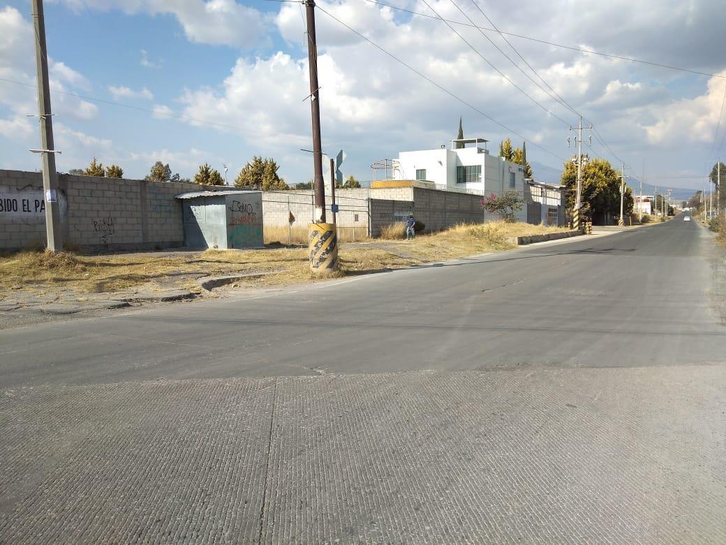 Foto Terreno en Venta en  Puebla de Zaragoza ,  Puebla  Venta de terreno industrial, esquina, autopista, vía de tren