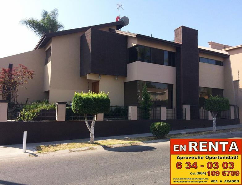Foto Casa en Renta en  Tijuana ,  Baja California Norte  RENTAMOS PRECIOSA RESIDENCIA DE LUJO EN EXCELENTE FRACCIONAMIENTO