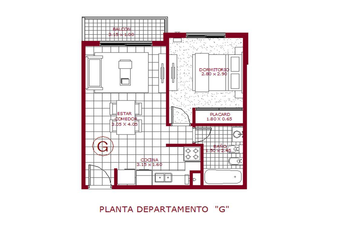 Foto Departamento en Venta en  Castelar Norte,  Castelar  San Pedro 841 (4G) + Cochera Cubierta