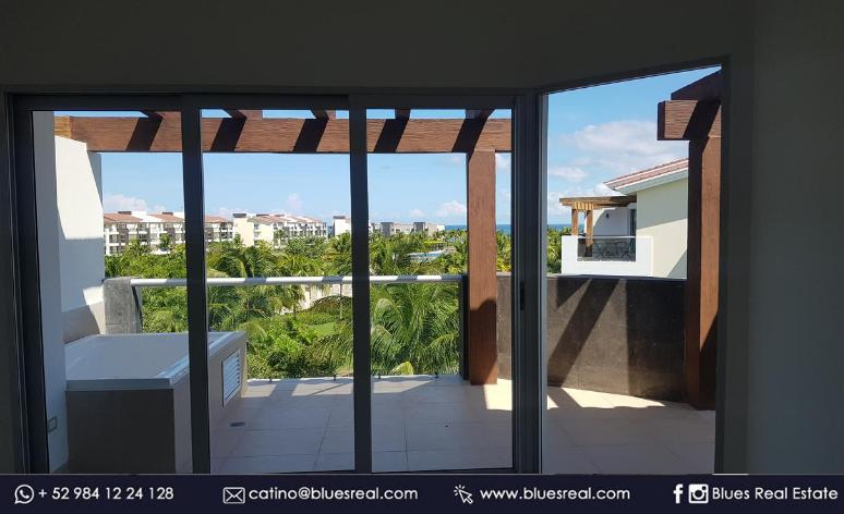 Picture Apartment in Rent in  Solidaridad ,  Quintana Roo  Apartment for rent in Playa del Carmen in Gran Coral Marea Azul - Code 969