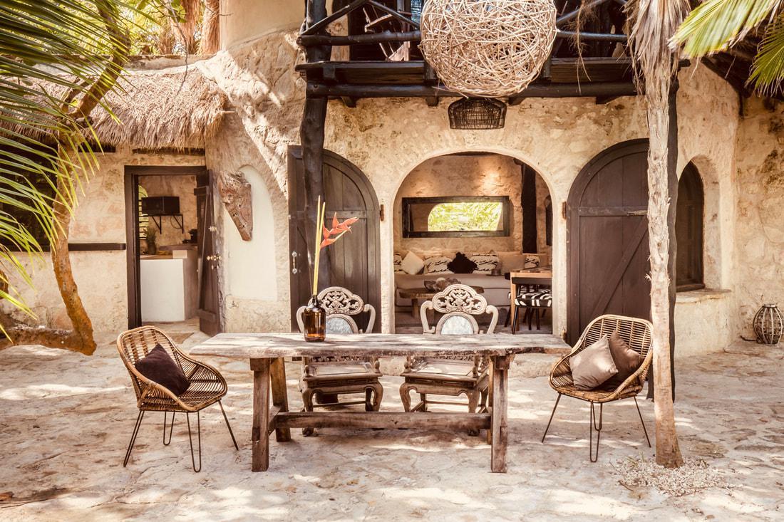 Foto Casa en Renta temporal en  Tulum,  Tulum  Casa en la Playa