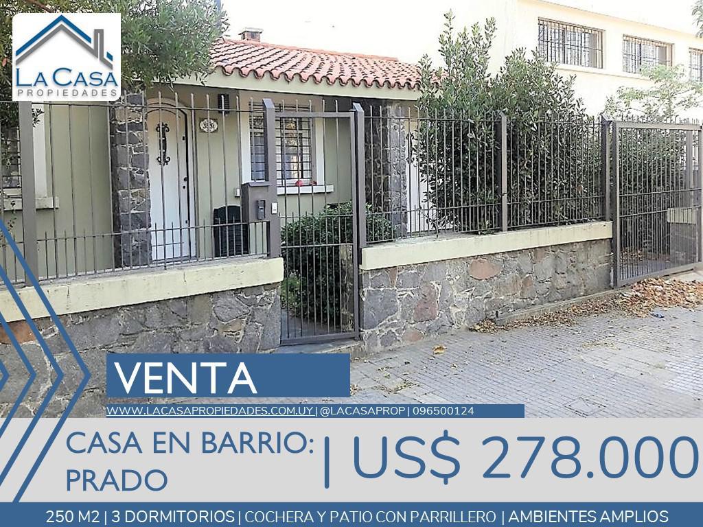 Foto Casa en Venta en  Prado ,  Montevideo  Manuel Correa al 3500