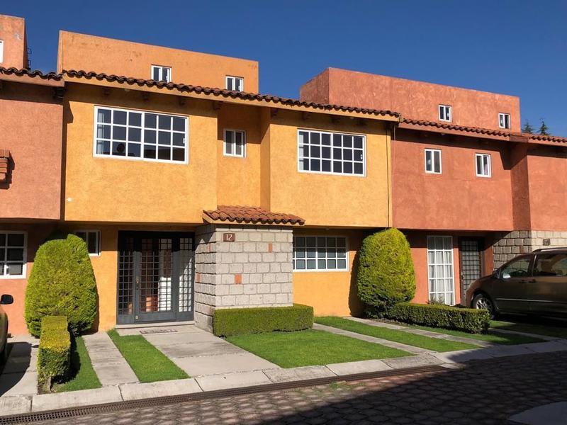 Foto Casa en condominio en Venta | Renta en  Villa los Arrayanes,  Metepec  CASA EN VENTA O RENTA, LOS ARRAYANES, METEPEC