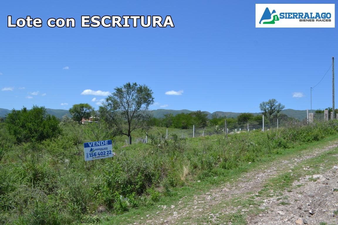 Foto Terreno en Venta en  Cosquin,  Punilla  LOTE 80 - Cumbre Azul, Cosquín