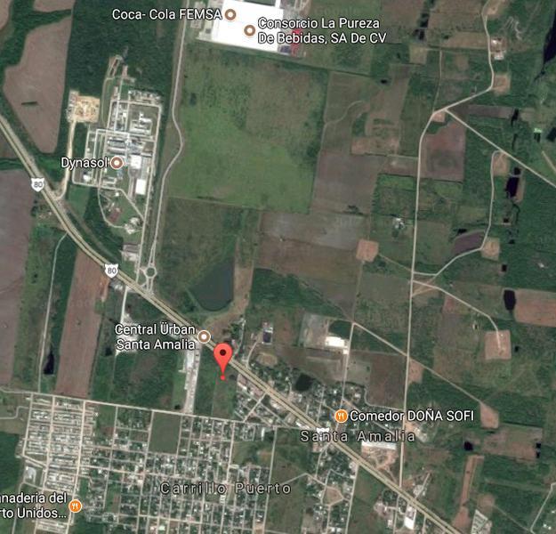Foto Terreno en Venta en  Ampliacion Santa Amalia,  Altamira  CTV1915-285 Carretera Tampico-Mante Terreno