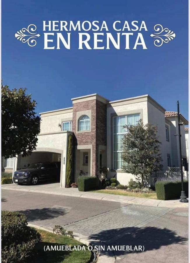 Foto Casa en condominio en Renta en  Bellavista,  Metepec  CASA EN RENTA CON TERRENO EXCEDENTE  EN PORTOFINO  METEPEC