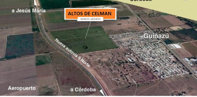 Foto Terreno en Venta en  Juarez Celman ,  Cordoba  LOTEO EN ALTOS DE CELMAN, sobre Nueva Autovía 9 Norte
