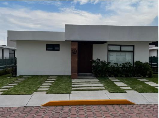 Foto Casa en condominio en Renta en  Casa Blanca,  Metepec  Renta casa de una sola planta Privada en Casa Blanca