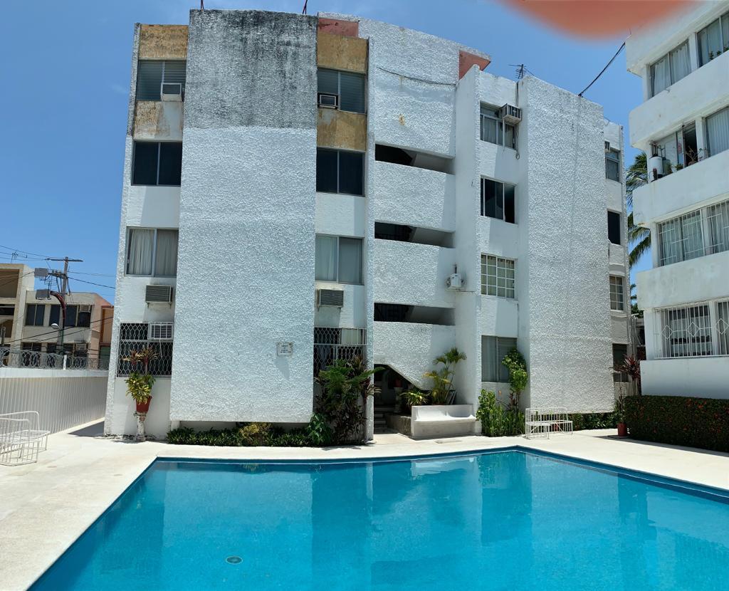 Foto Departamento en Venta en  El Roble,  Acapulco de Juárez  DEPARTAMENTO EN VENTA COND. LEONES. FRACC. EL ROBLE