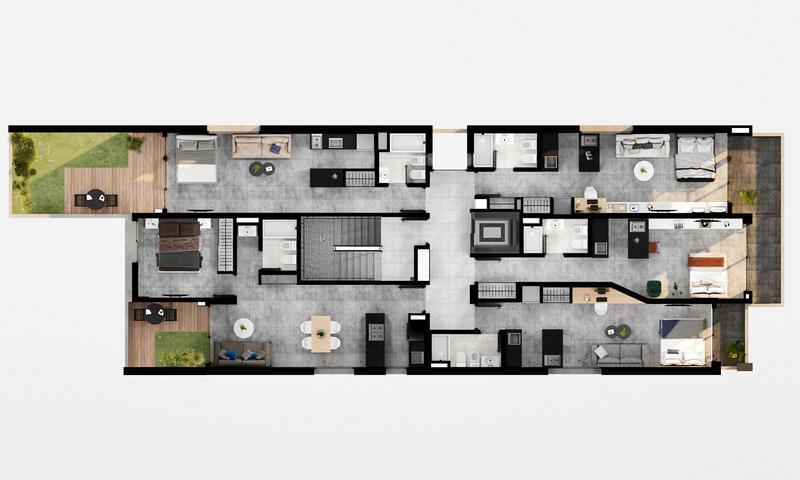 Foto Departamento en Venta en  Centro,  Rosario  Juan Manuel de Rosas 1630   1 Dormitorio