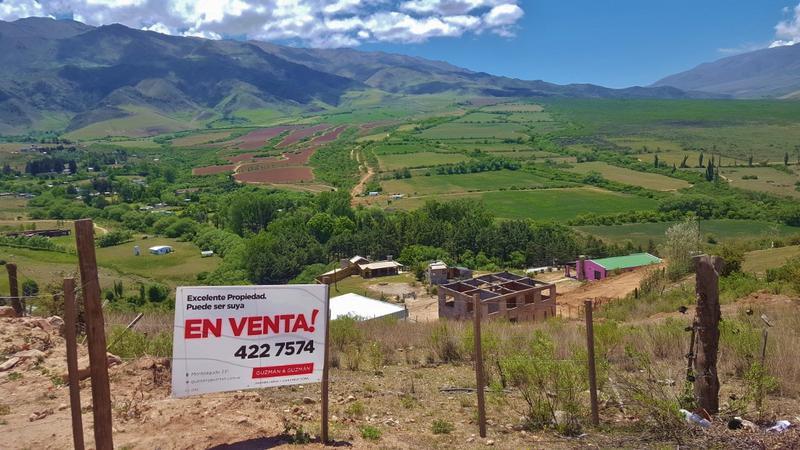 Foto Terreno en Venta en  Tafi Del Valle ,  Tucumán  Terreno en Venta 975 m2 La Banda El Alto